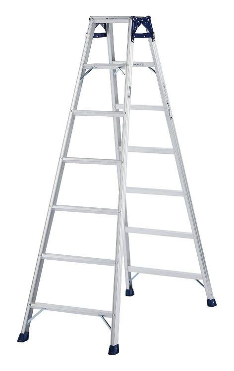 ピカコーポレーション PiCa はしご兼用脚立 CM 1.98 CM-210C | 脚立 ピカ 折りたたみ アルミ 工事 照明 用品 はしご 脚立 プロ 職人 整備 洗車 DIY