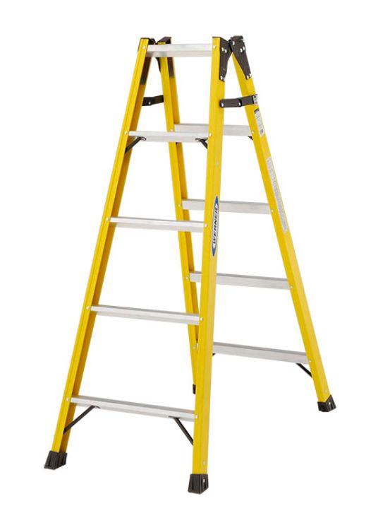 ピカコーポレーション PiCa FRP製 はしご兼用 電工用脚立 FRP-SL 1.39 FRP-SL15 | 脚立 ピカ 折りたたみ アルミ 工事 照明 用品 はしご 脚立 プロ 職人 整備 洗車 DIY
