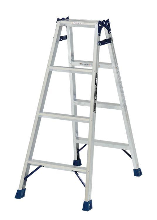 ピカコーポレーション PiCa はしご兼用脚立 MCX 1.1 MCX-120   脚立 ピカ 折りたたみ アルミ 工事 照明 用品 はしご 脚立 プロ 職人 整備 洗車 DIY