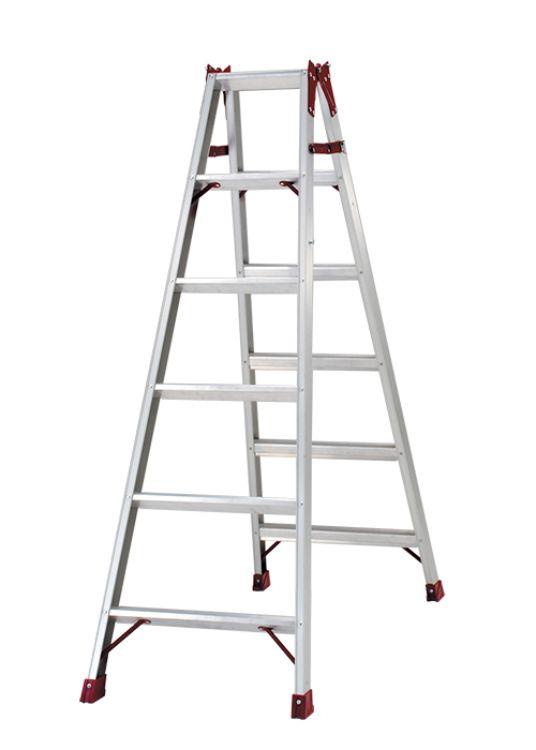 ピカコーポレーション PiCa はしご兼用脚立 PRO プロ 1.69 PRO-180B | 脚立 ピカ 折りたたみ アルミ 工事 照明 用品 はしご 脚立 プロ 職人 整備 洗車 DIY