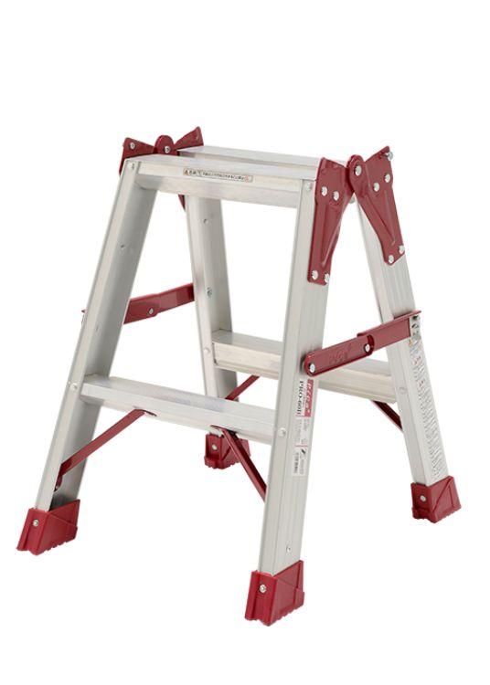 ピカコーポレーション PiCa はしご兼用脚立 PRO プロ 0.52 PRO-60B | 脚立 ピカ 折りたたみ アルミ 工事 照明 用品 はしご 脚立 プロ 職人 整備 洗車 DIY