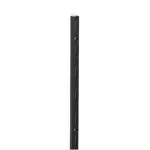 バーゲンで SUGATSUNE スガツネ工業 棚柱 10000型 エレメントシステム 120-031-695 10000-00040   シンプル おしゃれ 鋼 ブラック 焼付塗装, BAS CLOTHING 1c8f1323