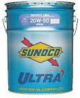 SUNOCO スノコ エンジンオイル ULTRA ウルトラ 20W-50 SL CF4 20L缶 || 20W50 20L 20リットル ペール缶 オイル 車 人気 交換 オイル缶 油 エンジン油