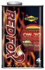 SUNOCO スノコ 2輪車用 エンジンオイル REDFOX レッドフォックス RACING & SPORT 0W-30 JASO MA 20L缶 || 0W30 20L 20リットル ペール缶 オイル 2輪 バイク 人気 交換 オイル缶 油 エンジン油