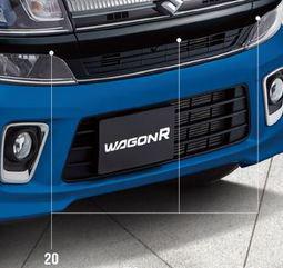 SUZUKI スズキ 純正 WAGONR ワゴンR フロントバンパーガーニッシュセット 右側 (2017.2~仕様変更) 71783-63R20-ZJ3||