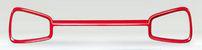 SUZUKI スズキ 純正 ALTO アルト めがねガーニッシュ ピュアレッド (2016.12~仕様変更) 72111-74P00-ZUZ||