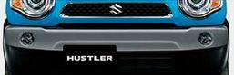 SUZUKI スズキ 純正 HUSTLER ハスラー バンパーガーニッシュ ZVC スチールシルバーメタリック 2016.12~仕様変更 99000-99076-HU3||
