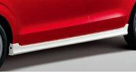SUZUKI スズキ 純正 ALTO アルト サイドアンダースポイラー シルキーシルバーメタリック (2016.12~仕様変更) 99000-990F0-A3K||