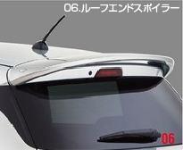SUZUKI スズキ 純正 SWIFT スイフト ルーフエンドスポイラー ピュアホワイトパール [2016.12~仕様変更][ 99110-52R00-ZVR ]||