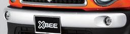 SUZUKI スズキ 純正 XBEE クロスビー バンパーガーニッシュ フォグランプ穴有 フロント用 2017.12~仕様変更 9912B-76R10-ZVR||