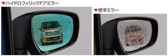SUZUKI スズキ 純正 WAGONR ワゴンR ハイドロフィリックドアミラー LEDサイドターンランプ付ドアミラー用 (2017.2~仕様変更) 99172-63R00  