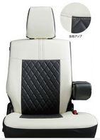 SUZUKI スズキ 純正 WAGONR ワゴンR 革調シートカバー HYBRID FZ用 (2017.2~仕様変更) 99181-63R50||