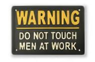 WARNING ワーニング プレート アイアンプレート 警告 危険 アンティーク マート 鉱物 アイアン 雑貨 店舗 看板 信託 ショップ ウォールデコ ウォールカフェ サインプレート アメリカン パネル SLW052 アンティーク雑貨 PLATE 小物 TRI IRON カフェ ドアプレート ウォールサインプレート ディスプレイ
