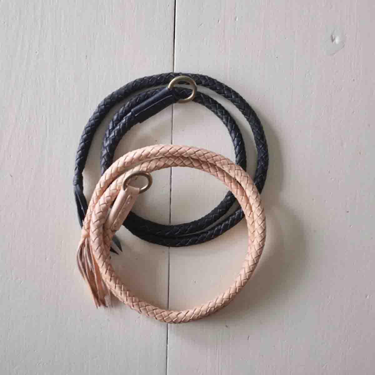 The Superior Labor シュペリオールレイバー blade leather belt ブレイドレザーベルト 2 colors