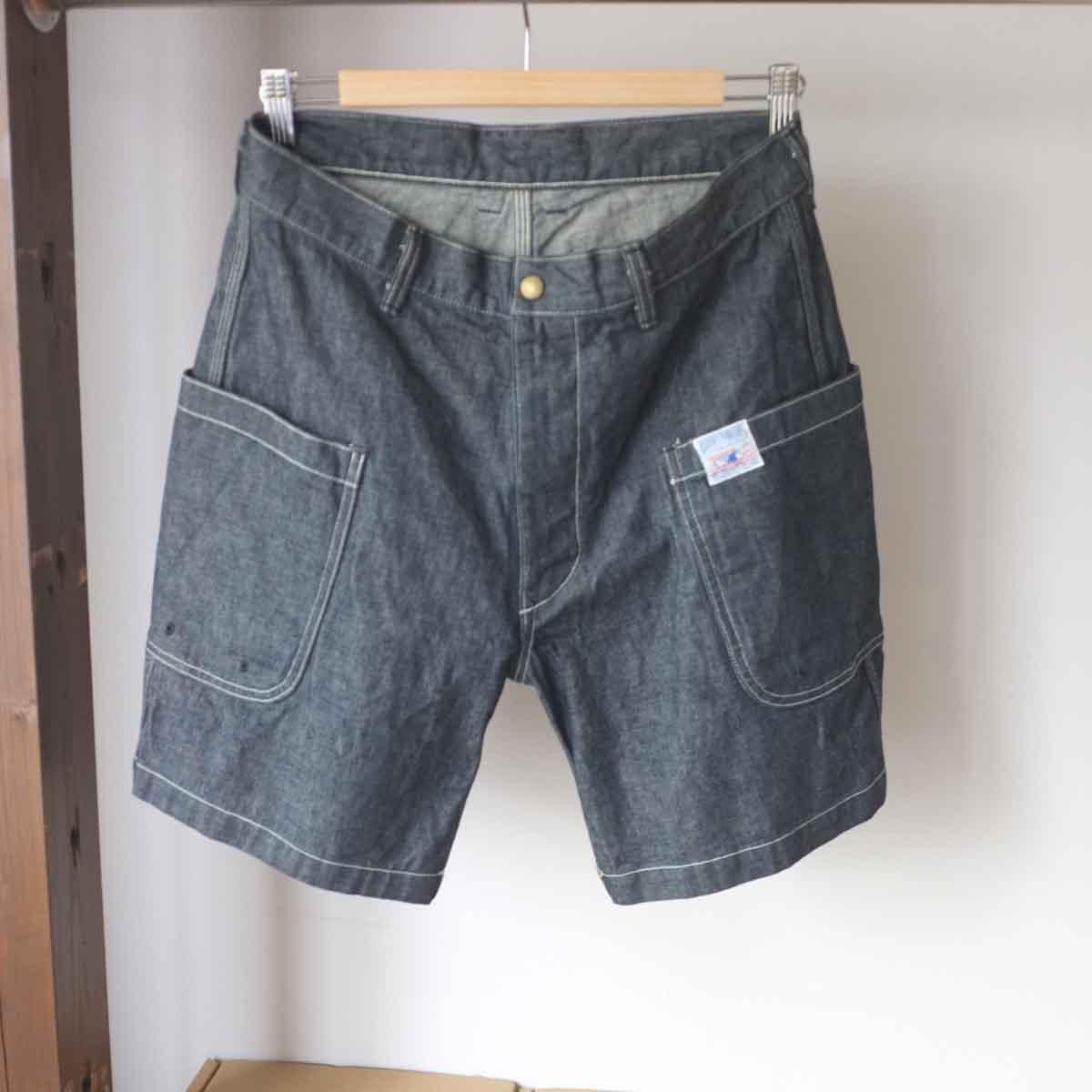 期間限定ポイント10倍 The 即納送料無料! Superior Labor ストアー シュペリオールレイバー denim shorts BBW BBWショーツ
