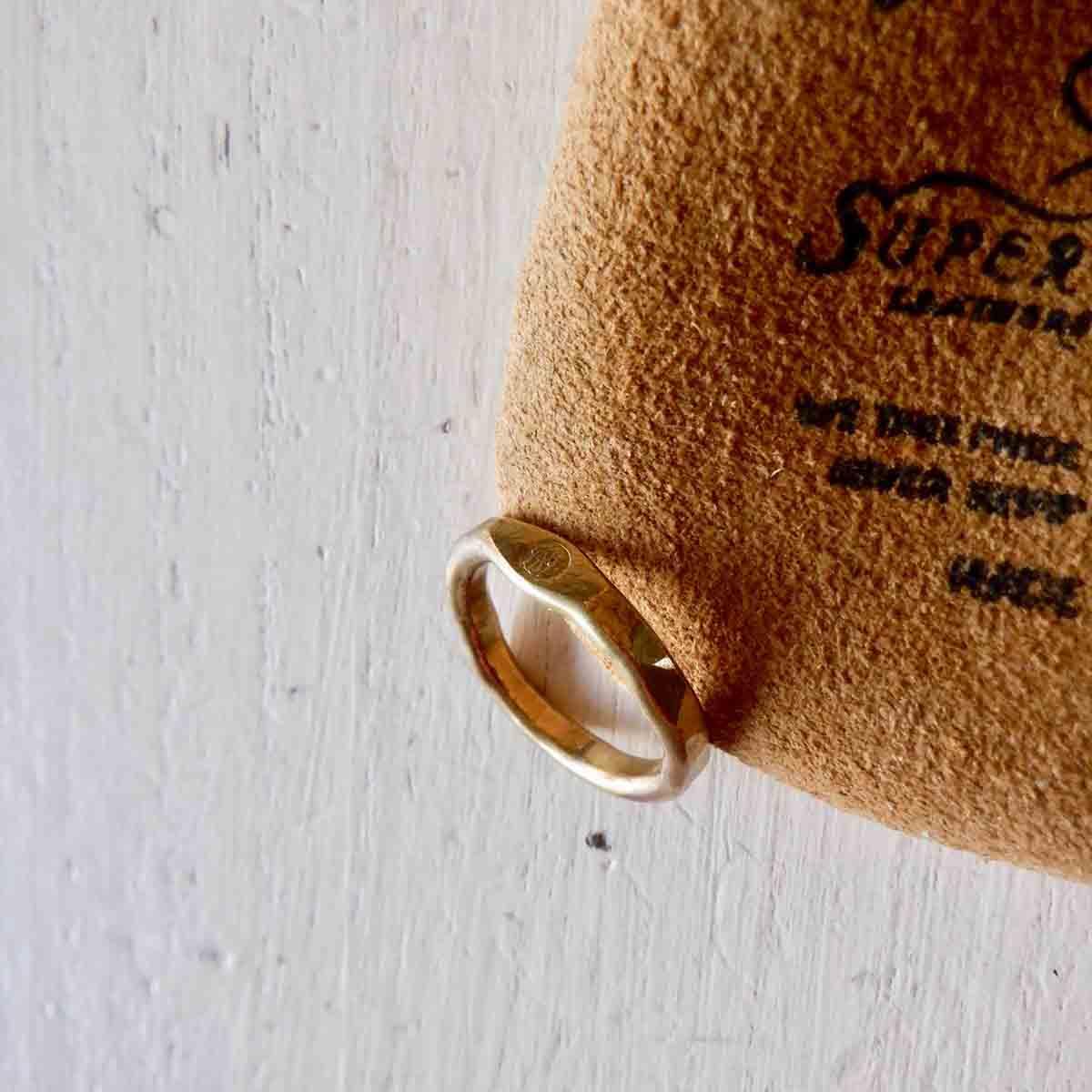 再入荷 新品■送料無料■ The Superior Labor シュペリオールレイバー brass 低価格 fine ring