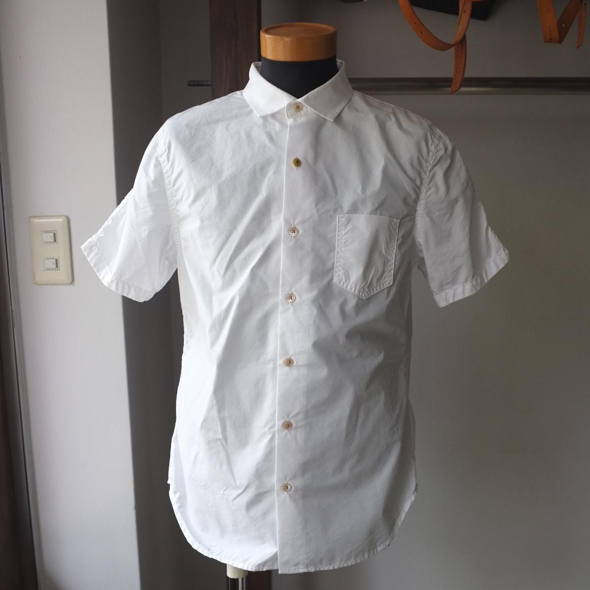 【期間限定ポイント10倍】Re made in tokyo japan アールイー Cotton Nylon Active Shirt コットンナイロンアクティブシャツ  2 colors