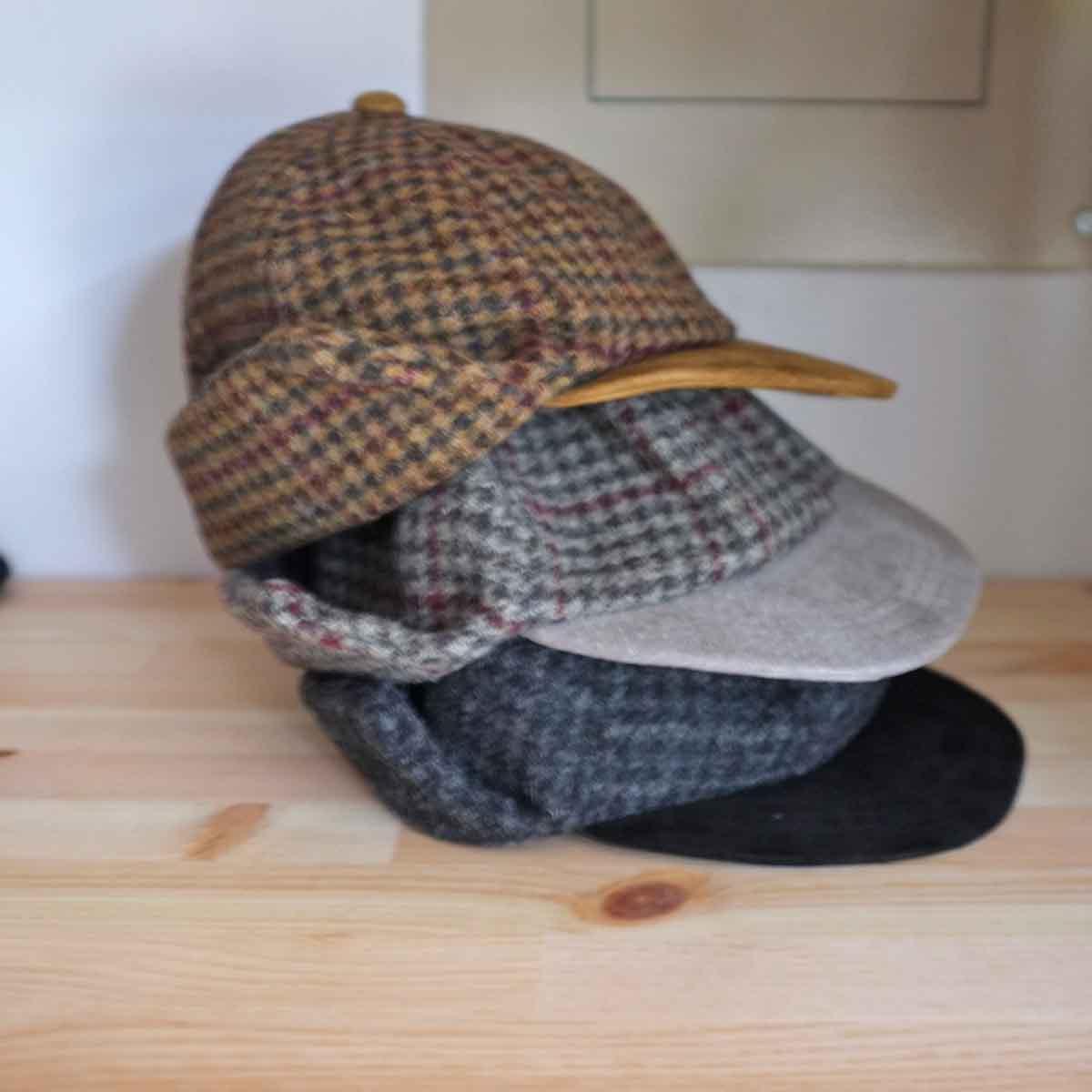 Hender Scheme エンダースキーマ tweed ear cap ツイードイヤーキャップ 3 colors