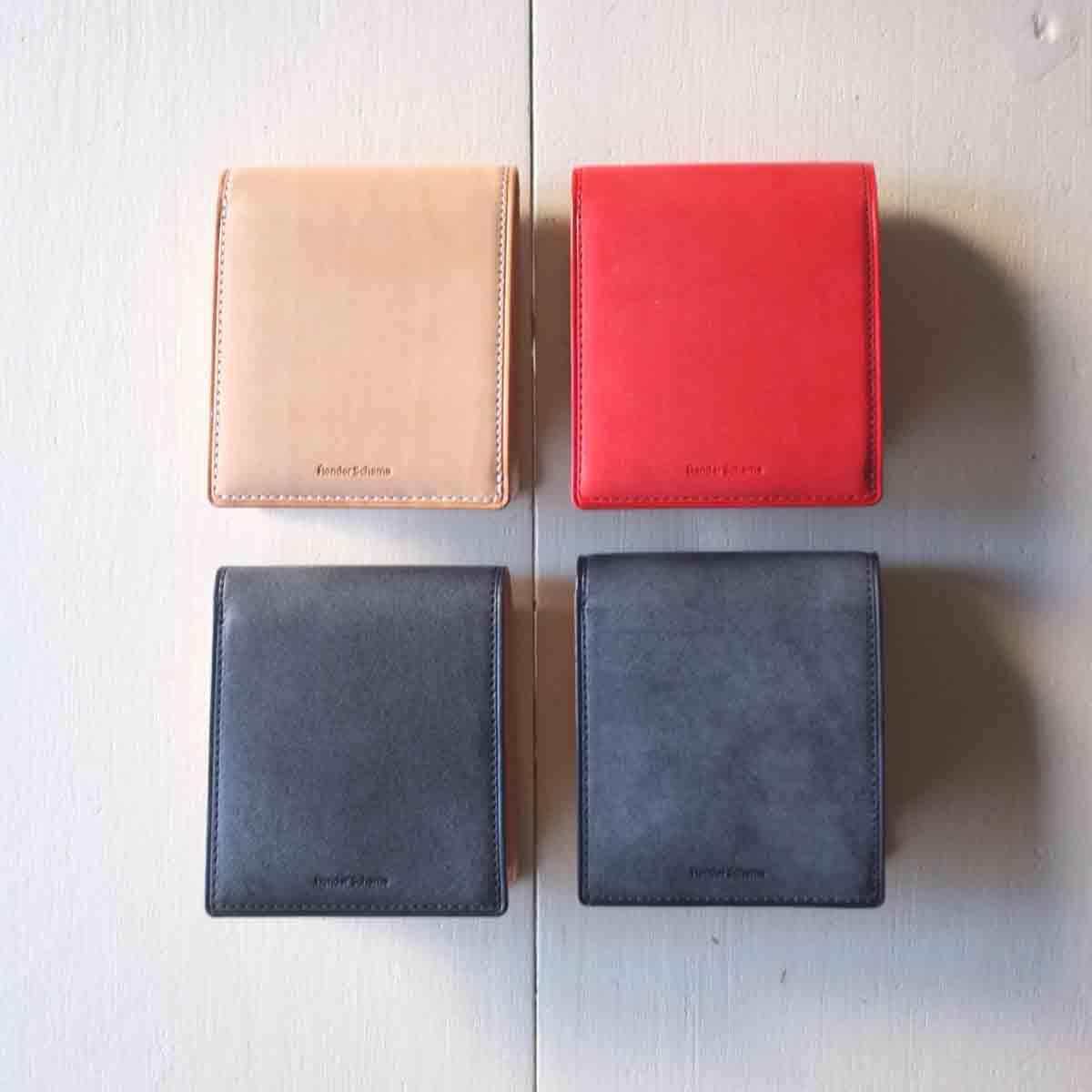 Hender Scheme エンダースキーマ half folded wallet 4 colors