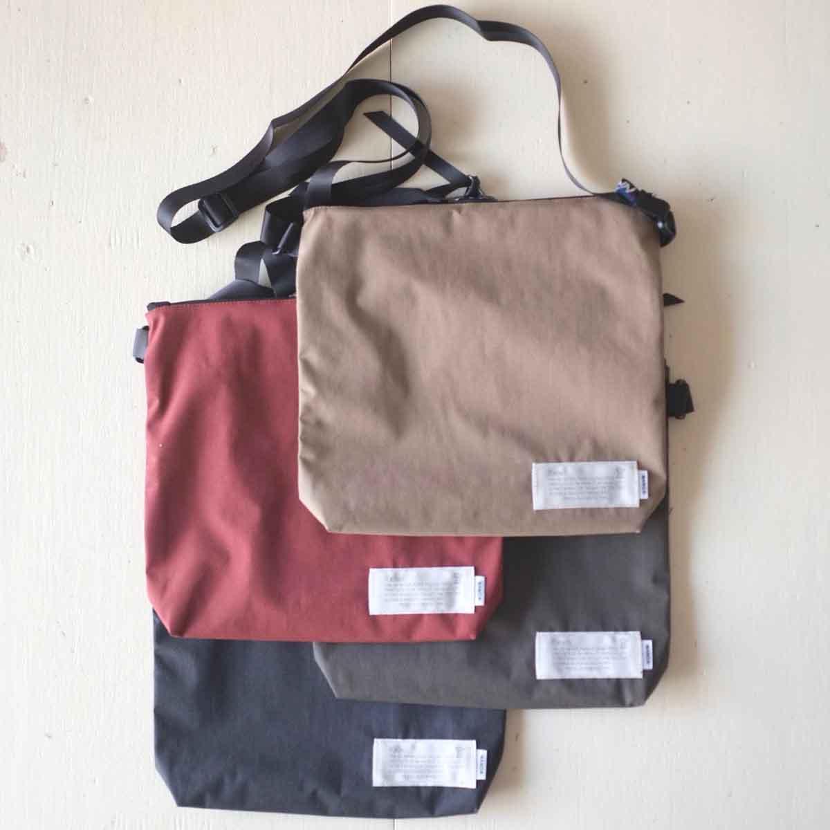 kelen ケレン x NANGA ナンガ Heckman ヘックマン sacoche サコッシュ 4 colors TAKIBI fabric使用