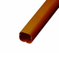 AD-6-BR ケース販売 5本セット エアコン配管化粧カバー 6型 ブラウン 《スマートダクト ADシリーズ》バクマ工業