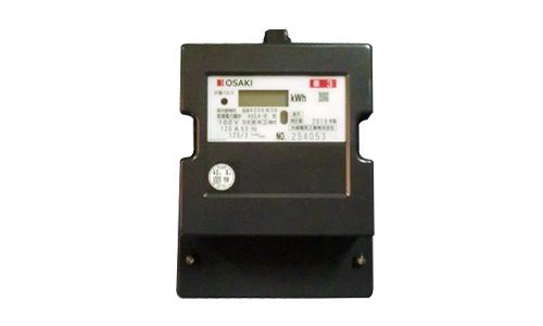 【送料無料】 A6EAR120A 電子式電力量計(誘導形電力量計形状互換)60Hz 大崎電気工業