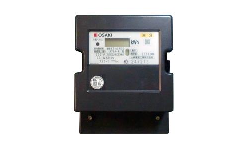 【送料無料】 A7EAR 電子式電力量計(誘導形電力量計形状互換)60Hz 大崎電気工業