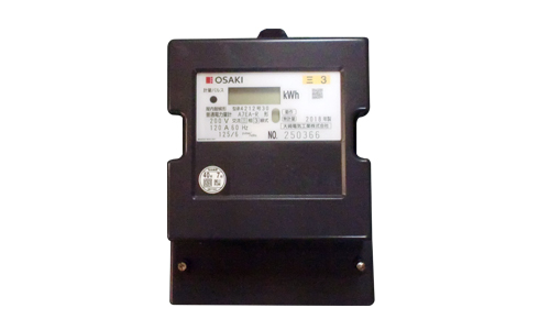 【送料無料】 A7EAR120A 電子式電力量計(誘導形電力量計形状互換)60Hz 大崎電気工業