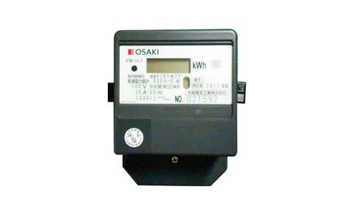 【送料無料】 A5EAR30A 電子式電力量計(誘導形電力量計形状互換)60Hz 大崎電気工業