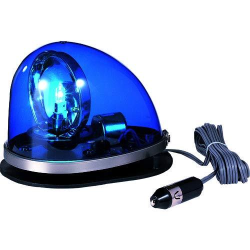 【送料無料】HKFM-102G-B 流線型回転灯 ゴムマグネット着脱式 DC24V 青 パトライト