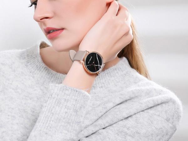 【正規販売店 最大2年保証】 ALLY DENOVO アリーデノヴォ Carrara Marble グレーベルト 腕時計 36mm レディース 大理石 本革 レザーAF5005.7 AF5005.8 ブランド ギフト プレゼント 安心 信頼 【あす楽対応可】