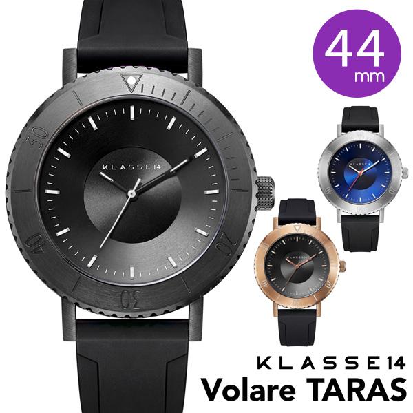 【正規販売店 2年保証】 klasse14 腕時計 メンズ ウォッチ 44mm VOLARE TARAS WVT19BK001M WVT19SR001M WVT19VG001M ステンレス クラスフォーティーン クラス14 class14 クラッセ14 プレゼント 安心 信頼