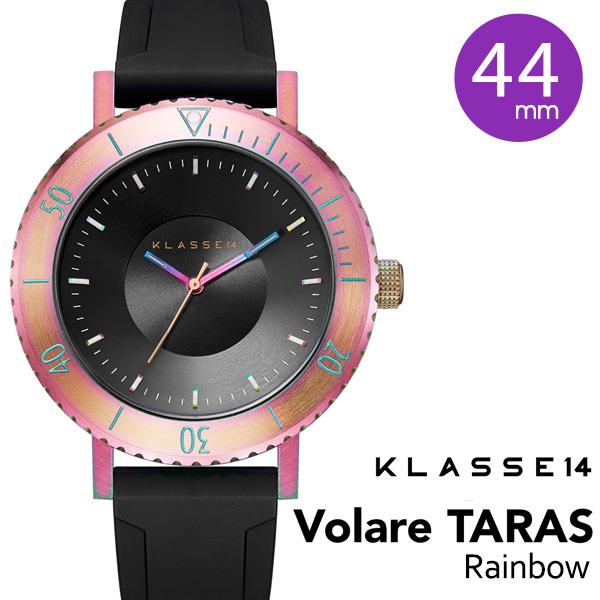 【正規販売店 2年保証】 klasse14 腕時計 メンズ ウォッチ 44mm VOLARE TARAS Rainbow WVT19TI001M ステンレス レインボー クラスフォーティーン クラス14 class14 クラッセ14 プレゼント 安心 信頼