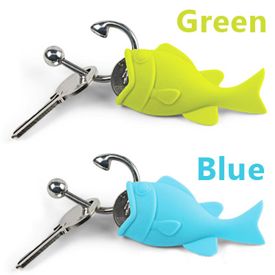 HOOKED fish key ring coin holder hocked watches and toys rather than gadgets Cynthia