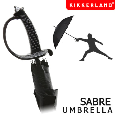 Pattern is Saber style a unique umbrella Sabre Umbrella / cerberunbrera men's umbrella ★ fun! toys / gadgets! toy gift import goods watches and toys rather than gadgets Cynthia