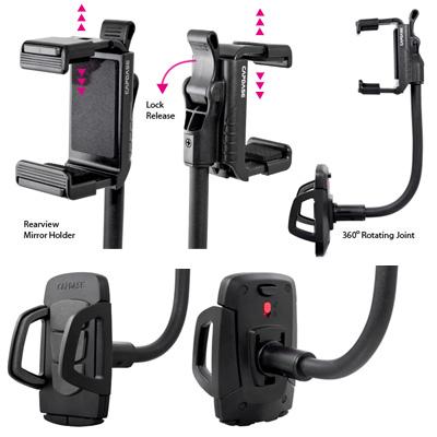 供HR00-CC01 Car Rearview Mirror Mount Holder Race iphone6 iphone6 plus/手机、PDA使用的汽车后视镜座骑持有人車載用商品iPhone智能手机配饰智能手机台灯礼物