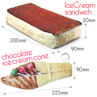 Watch ice cream chocolate cookie pouch imported gadgets and toys rather than gadgets Cynthia