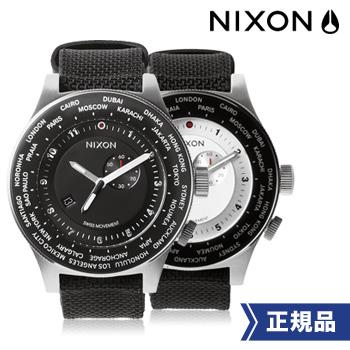 NIXON ニクソン 正規品 THE PASSPORT パスポート アナログワールドタイムウォッチ メンズ 2色 腕時計 送料無料 【あす楽対応可】腕時計とおもしろ雑貨のシンシア プレゼント