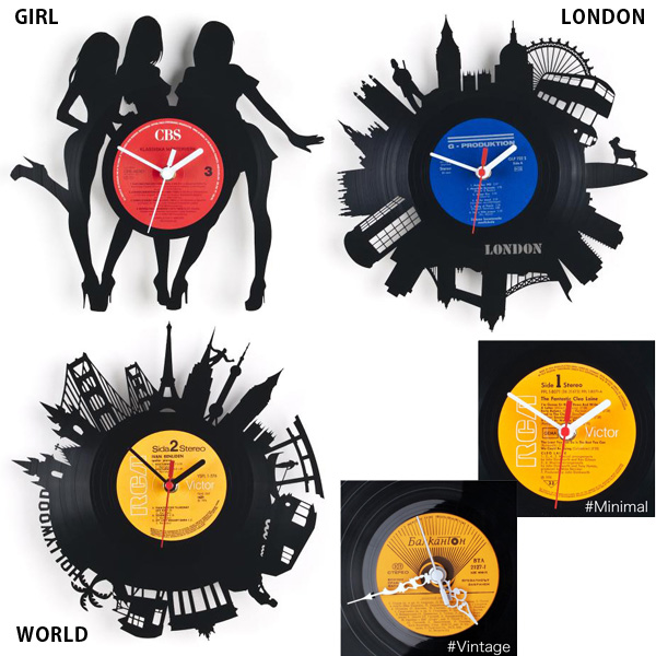 Re Vinyl / リヴァイナル Pavel Sidorenko / Pavel Sidorenko Vinyl Records Clock  Fun! Gadgets / Toys! And Toy / Import Sundries Gift Watch Funny Rather Than  ...