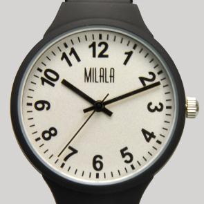 也和女子的手表EA-254伸缩taipuberutojabara蛇纹管橡胶表面涂层女士Swatch手表做杂货的shinshiapurezento
