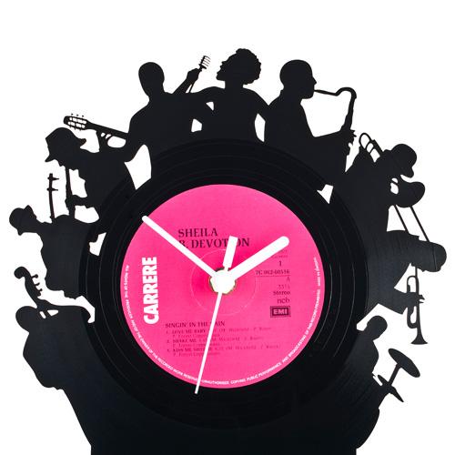 ... Re_Vinyl(リヴァイナル)レコード置き時計 置時計 おしゃれ