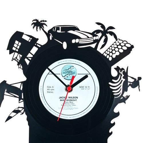 Re_Vinyl(リヴァイナル)レコード置き時計 置時計 おしゃれ ... Amazing Pictures