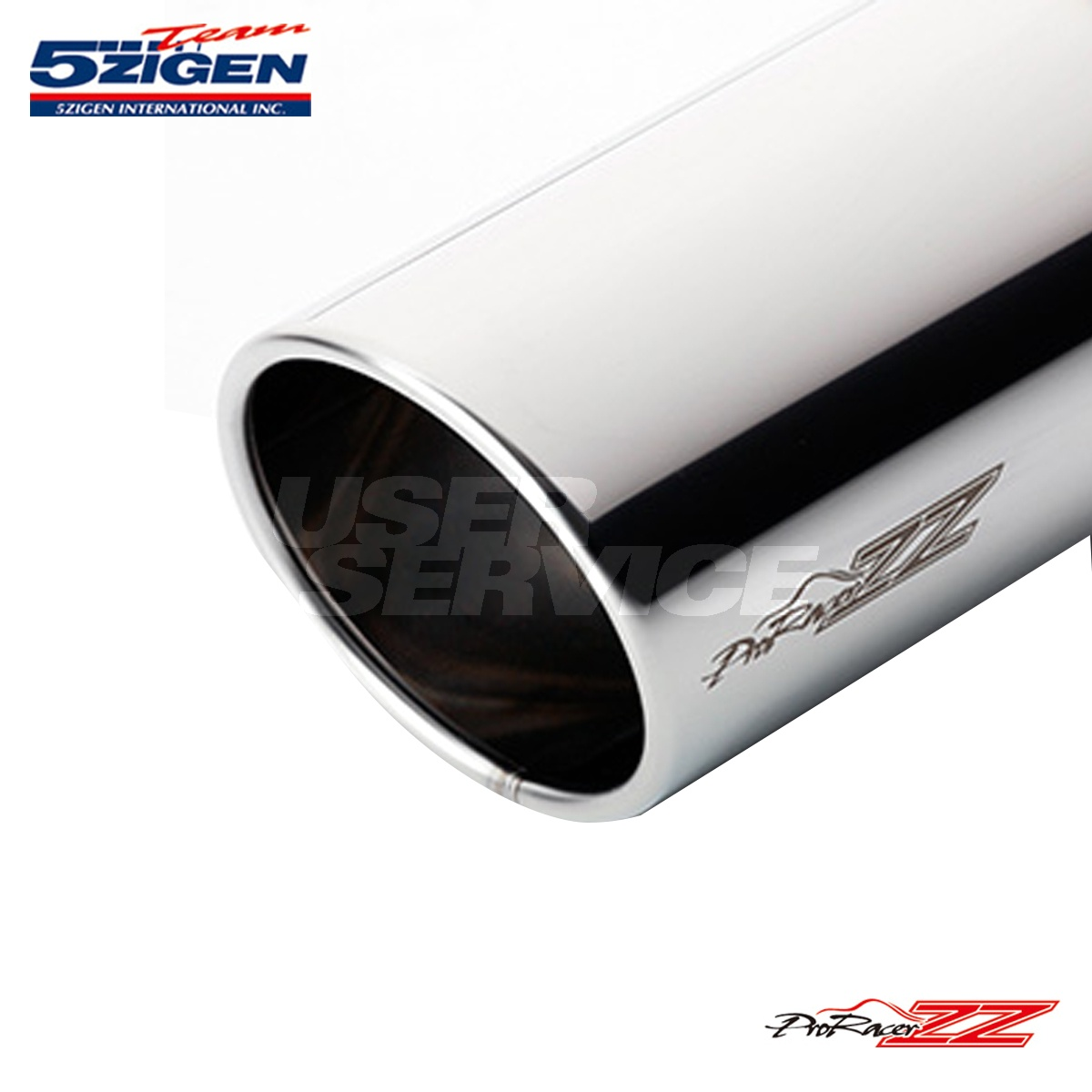 5次元 プロレーサーZZ マーク2チェイサー GF-JZX100 マフラー 品番:PZT-006 5ZIGEN