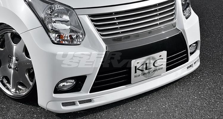 KLC ワゴンR MH23 フロントバンパースポイラー Premium プレミアム ケイエルシー 個人宅発送不可