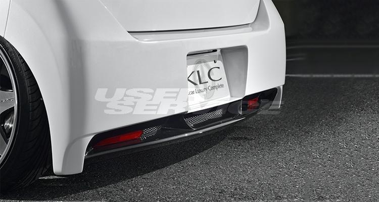KLC ワゴンR MH23 リアバンパースポイラー Premium プレミアム ケイエルシー 個人宅発送不可