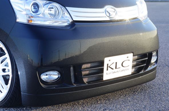 KLC ムーブカスタム LA100S LA110S フロントバンパースポイラー ETERNAL ケイエルシー 個人宅発送不可