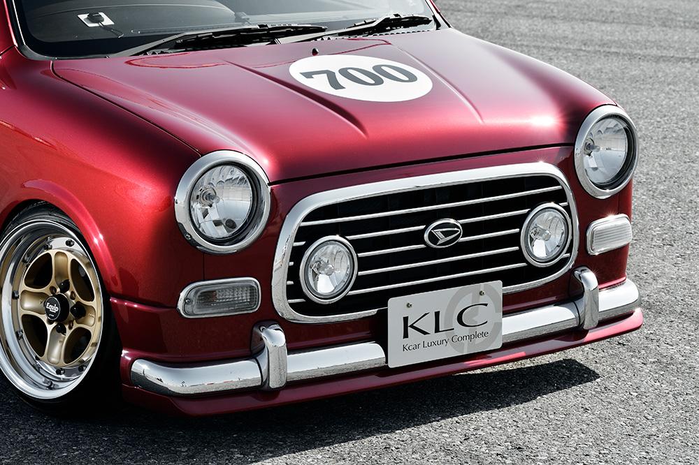 KLC ミラジーノ L700S L710S チンスポ フロントリップ FRP KLC Y's ケーエルシー ワイズ ケイエルシー