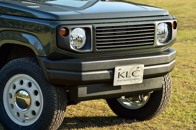 KLC ジムニー JB64W フェイスバンパー Heritage UK COUNTRYSIDE ヘリテージ ケイエルシー 個人宅発送不可