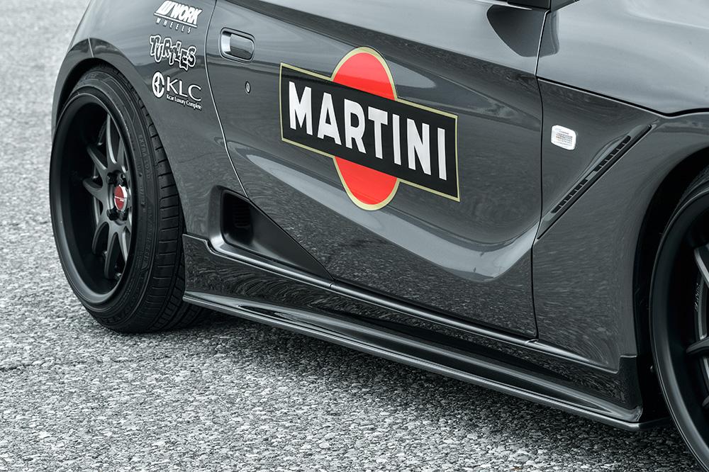KLC S660 JW5 サイドステップ #2 Premium GT プレミアムGT ケイエルシー 個人宅発送不可