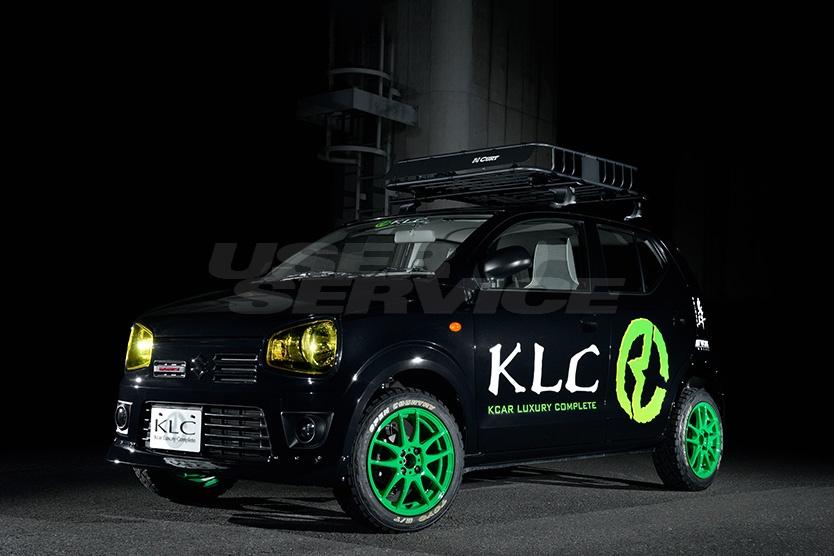 KLC アルト HA36S HA36V アップサス ハイリフトサス TODOROKI 轟 ケイエルシー